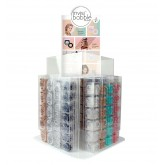 Invisibobble Mixed Display Acrylic 96pc