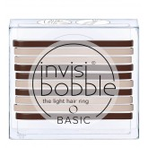 Invisibobble Basic Hair Ring Mocha & Cream 10pk