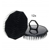 Scalpmaster Shampoo Scalp Brush Bucket 12pc