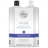 Nioxin System 6 Chemically Treated Progressed Thinning 33.8oz 2pk