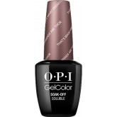 OPI Iceland Gel Color That's What Friends Are Thor 0.5oz