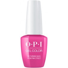 OPI GelColor No Turning Back From Pink Street 0.5oz