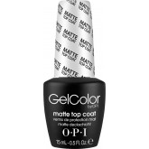 Opi Gel Color Matte Top Coat 0.5oz