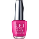 OPI Infinite Shine La Paz-itively Hot 0.5oz