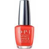 OPI Infinite Shine A Red-Vival City 0.5oz