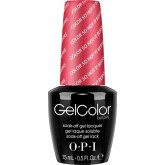Opi Gel Color - Color So Hot It Berns 0.5oz