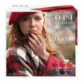 OPI GelColor Scotland Add On Kit #1 6pk 0.5oz