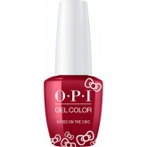 OPI GelColor Hello Kitty A Kiss On The Chic 0.5oz