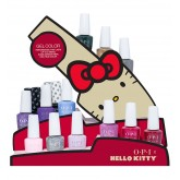 OPI GelColor Hello Kitty Display 16pc 0.5oz