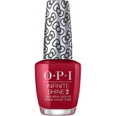 OPI Infinite Shine Hello Kitty A Kiss On The Chic 0.5oz