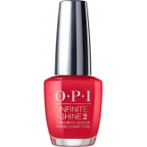 OPI Infinite Shine Scotland Red Heads Ahead 0.5oz