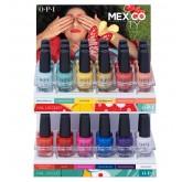 OPI Mexico City Display 36pc 0.5oz