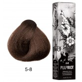 Pulp Riot FACTION8 Permanent Color 5-8 Brown 2oz