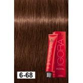 Igora Royal 6-68 Dark Blonde Auburn Red 2oz
