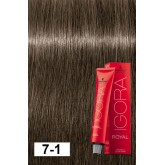 Igora Royal 7-1 Dark Ash Blonde (c-6) 2oz