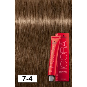 21c3bec66f Igora Royal 7-4 Dark Beige Blonde (be-6) 2oz - Modern Beauty Supplies