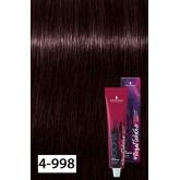 Igora Royal Lucid Nocturne 4-998 Medium Brown Violet Extra Red 2oz
