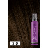 Igora Expert Mousse 3-0 Dark Brown 3.4oz