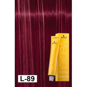 Igora Royal Fashion Lights L 89 Red Violet 2oz Modern