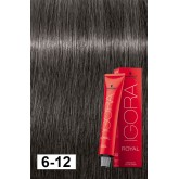 Igora Royal 6-12 Dark Blonde Cendre Ash 2oz