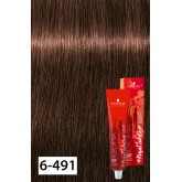Igora Royal Dusted Rouge 6-491 Dark Blonde Beige Violet Cendre 2oz