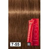 Igora Royal 7-55 Medium Blonde Gold Extra 2oz