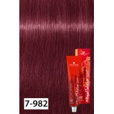 Igora Royal Dusted Rouge 7-982 Medium Blonde Violet Red Ash 2oz