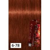 Igora Royal Opulescence 6-78 Dark Blonde Copper Red 2oz
