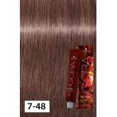 Igora Royal Opulescence 7-48 Medium Blonde Beige Red 2oz