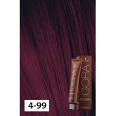 Igora Color10 4-99 Medium Brown Violet Extra 2oz