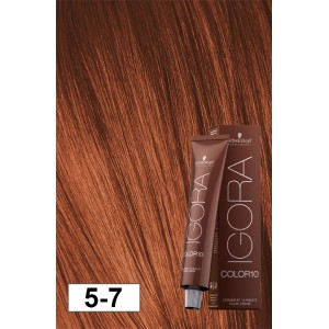 Igora Color10 5 7 Light Copper Brown 2oz