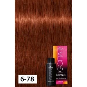21ebd33d06 Igora Vibrance 6-78 Dark Blonde Copper Red - Modern Beauty Supplies