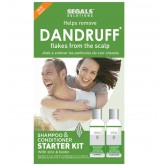 Segals Solutions Dandruff Flake Removal Starter Kit 4oz