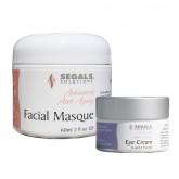 Segals Facial Masque 2oz & Eye Cream 0.5oz S/O