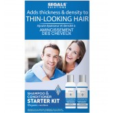 Segals Solutions Thin-Looking Hair Starter Kit 4oz