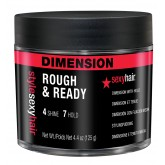 Style Sexy Hair Rough And Ready Dimension With Hold 4.4oz