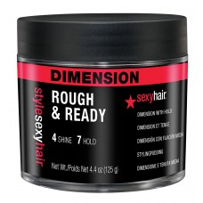 Style Sexy Hair Rough & Ready Dimension With Hold 2.5oz