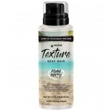 Texture Sexy Hair Foam Party Lite Texturizing Foam 5.1oz