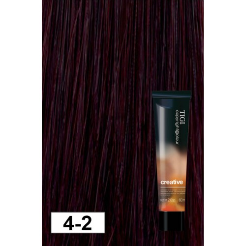 Tigi Copyright Creative V Violet Brown Oz Modern Beauty - Hair colour violet brown