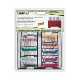 Wahl 5 In 1 Stainless Slide Combs 8pk+cs 53157