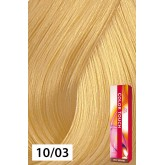 Wella Color Touch 10/03 Lightest Blonde / Natural Gold 2oz