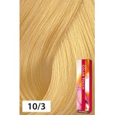 Wella Color Touch 10/3 Lightest Blonde / Gold 2oz