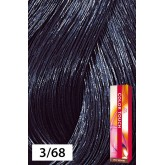 Wella Color Touch 3/68 Dark Brown / Violet Pearl 2oz