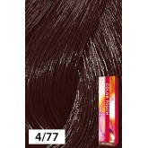 Wella Color Touch 4/77 Medium Brown / Intense Brown 2oz