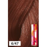 Wella Color Touch 6/47 Dark Blonde / Red Brown 2oz
