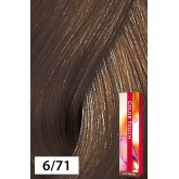 Wella Color Touch 6/71 Dark Blonde / Brown Ash 2oz