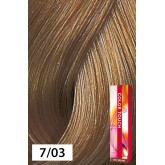 Wella Color Touch 7/03 Medium Blonde / Natural Gold 2oz