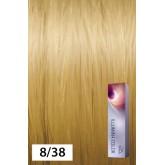 Wella Illumina Color 8/38 Light Blonde/Gold Pearl 2oz