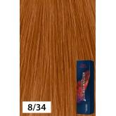 Wella Koleston Perfect Vibrant Reds 8/34 Light Blonde Gold Red 2oz