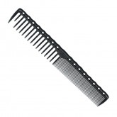 Y.S. Park Carbon Cutting Comb 185mm YS-332 - Black